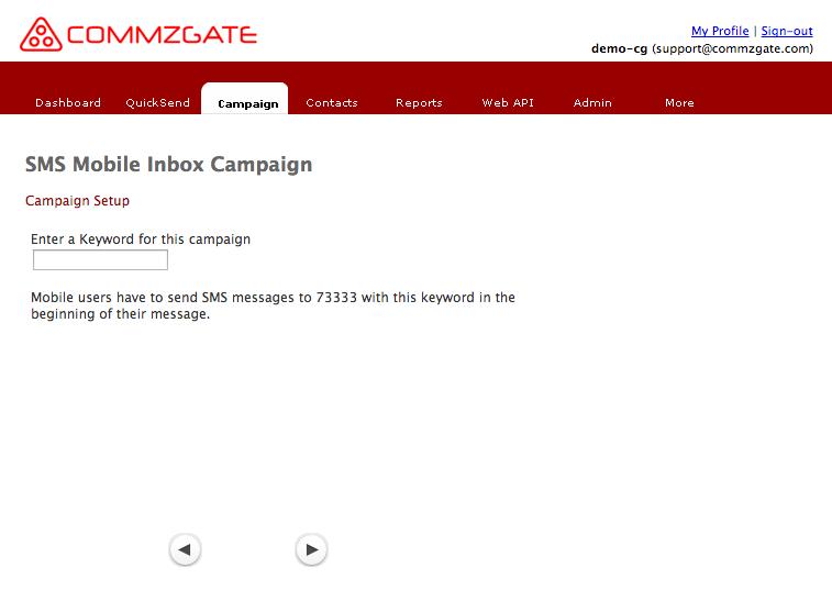 Receive Campaign
